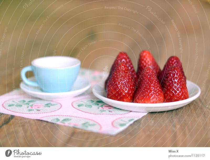 strawberries Food Fruit Cake Nutrition Breakfast To have a coffee Buffet Brunch Organic produce Vegetarian diet Diet Crockery Plate Cup Healthy Eating Fresh