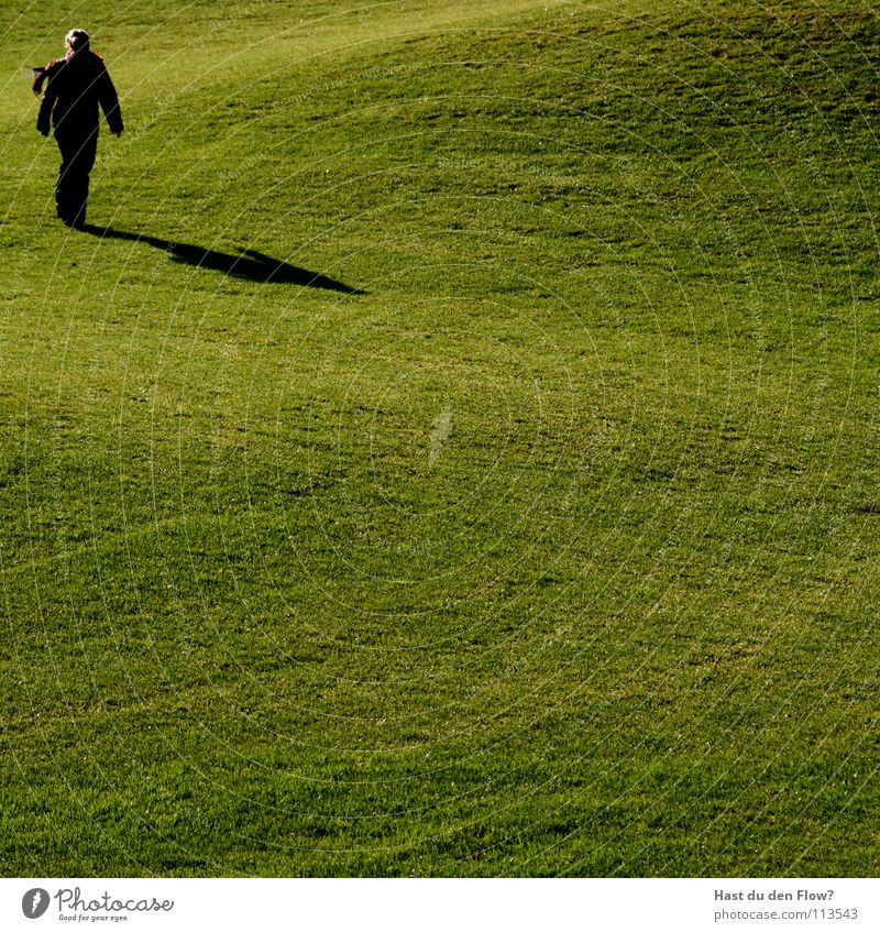 Woman Green Beautiful Winter Meadow Cold Freedom Grass Hair and hairstyles Healthy Wind Walking Lawn Hill Golf