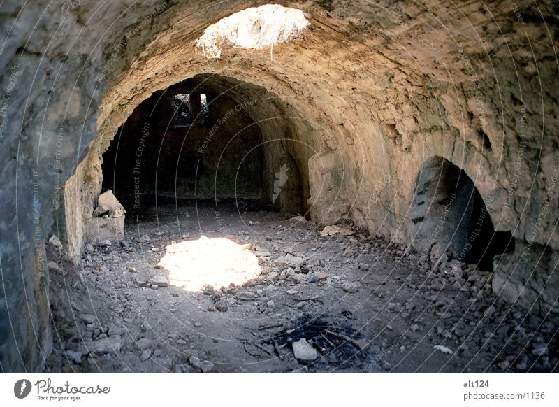 Sun Stone Wall (barrier) Architecture Tunnel