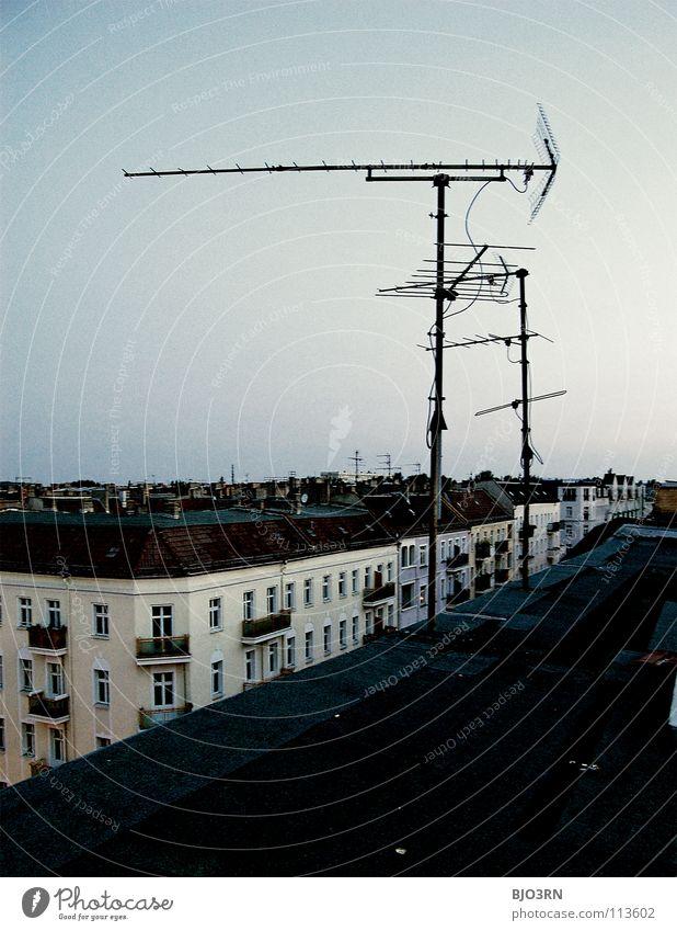 Sky City Berlin Europe Skyline Antenna Capital city Blue sky