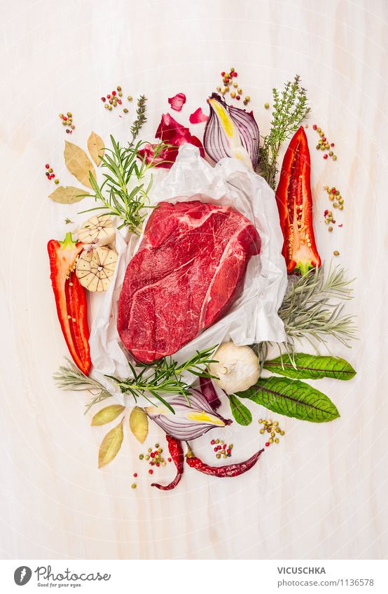 Green Leaf Healthy Eating Life Style Food Design Nutrition Cooking & Baking Fitness Herbs and spices Vegetable Organic produce Hunting Meat Dinner