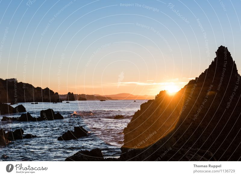 Nature Water Sun Ocean Beach Environment Coast Freedom Horizon Power Waves Success Bay Summer vacation Optimism