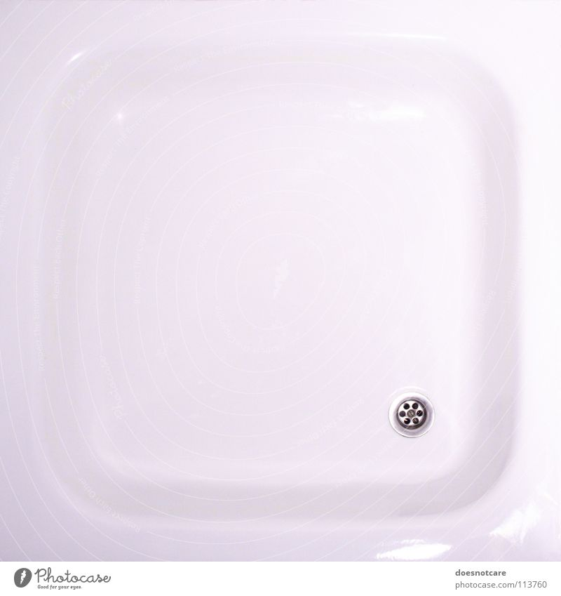 Beautiful White Glittering Bathroom Clean Pure Shower (Installation) Drainage Minimalistic Cleansed Shower tub