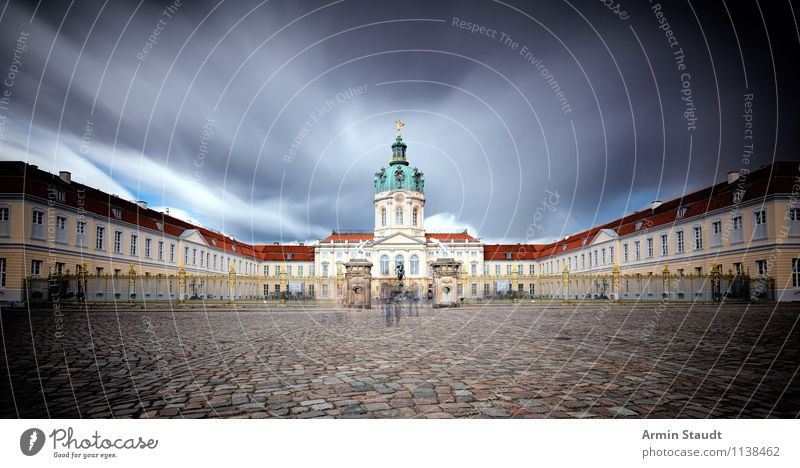 3 min Charlottenburg Castle Luxury Style Design Far-off places Summer Air Sky Clouds Spring Bad weather Storm Palace Manmade structures Architecture