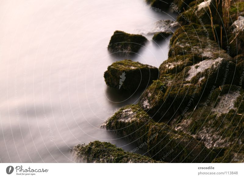 fairy tale stones Growth Surf Mystic Illuminate Flow Current Long exposure River Brook Stone Abstract Rock Movement oppressive. bright Blur Coast Water Reaction