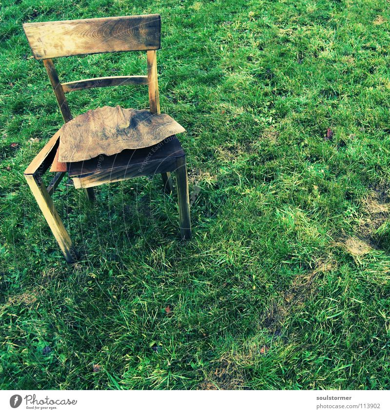 Old Green Calm Loneliness Cold Relaxation Meadow Wood Brown Dirty Weather Wet Grief Lawn Chair Broken