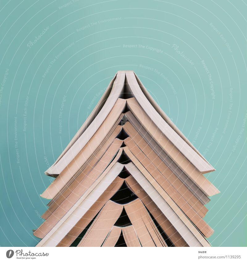 Blue Style Time Lifestyle School Design Beginning Creativity Book Simple Idea Study Academic studies Culture Sign Round