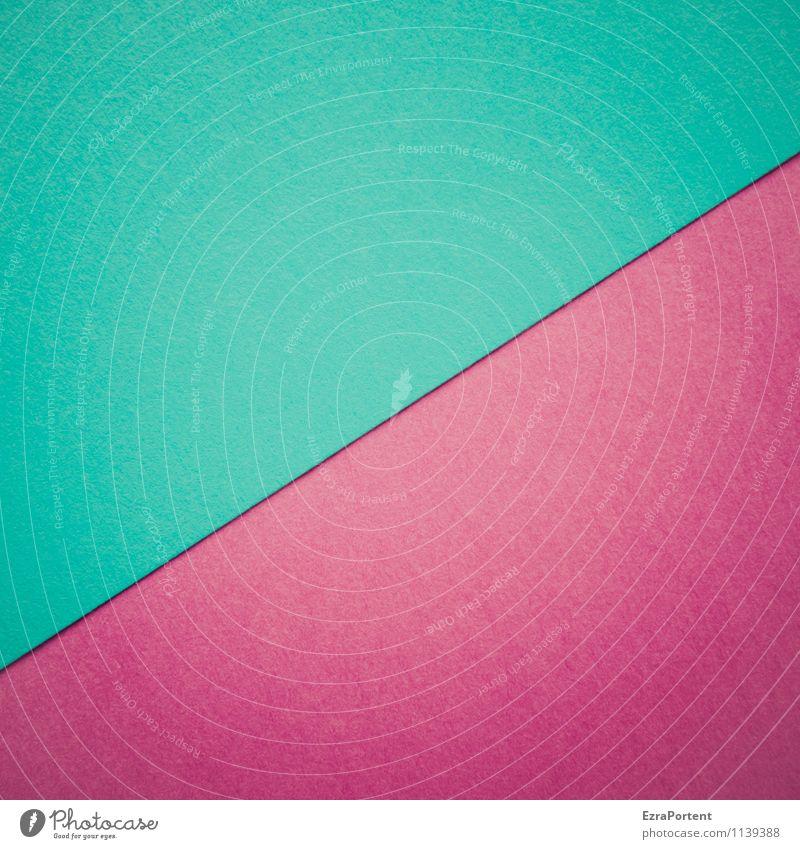 T/V Design Handicraft Line Esthetic Bright Blue Red Turquoise Colour Illustration Paper Dividing line Violet Structures and shapes Diagonal Geometry Sharp-edged