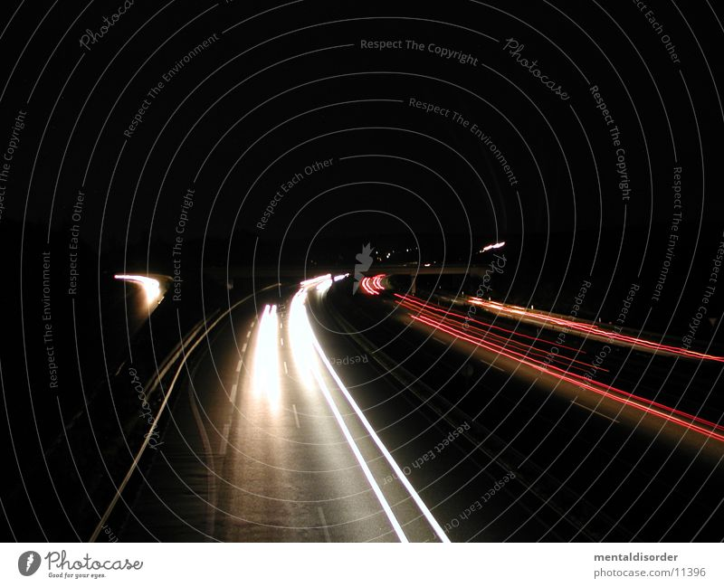 White Tree Red Vacation & Travel Yellow Street Movement Car Lamp Speed Bushes Stripe Driving Level Long Highway