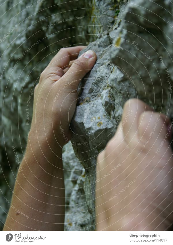 Hand Playing Mountain Rock Leisure and hobbies Climbing Mountaineering Free-climbing Bouldering Franconian Switzerland