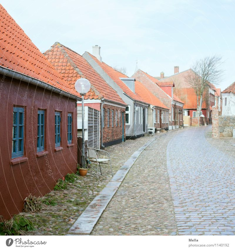The way is the goal - Hello 2016 Environment Ringkøbing Denmark Small Town Downtown Old town Deserted House (Residential Structure) Building