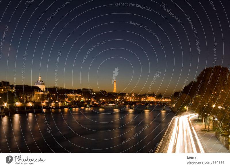 City Car Lighting Transport Perspective River Romance Kitsch Paris Skyline Monument France Landmark Eiffel Tower Seine