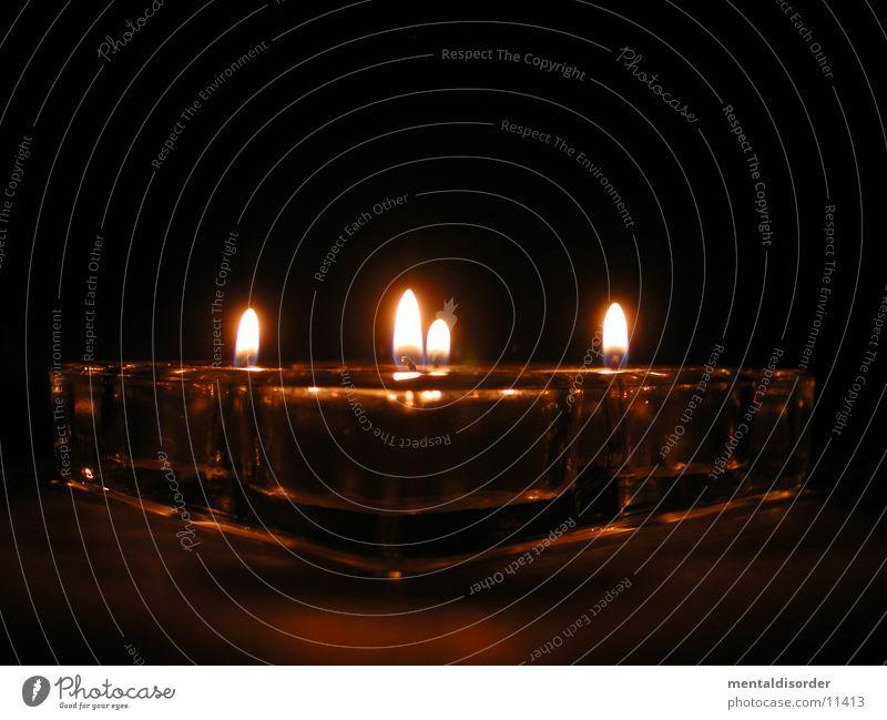 [tea]light[er] Prism Light Candle Reflection 4 Hot Heavy Club Tea Perspective Light (Natural Phenomenon) burn Corner Flame