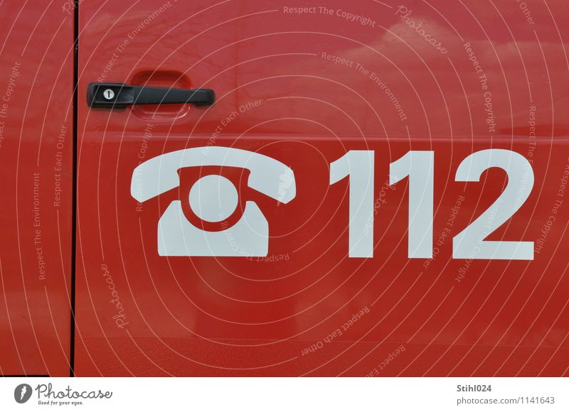 112 Doctor Services Telecommunications Ambulance Emergency Emergency doctor Sign Digits and numbers Driving Red Determination Protection Altruism Help Dangerous