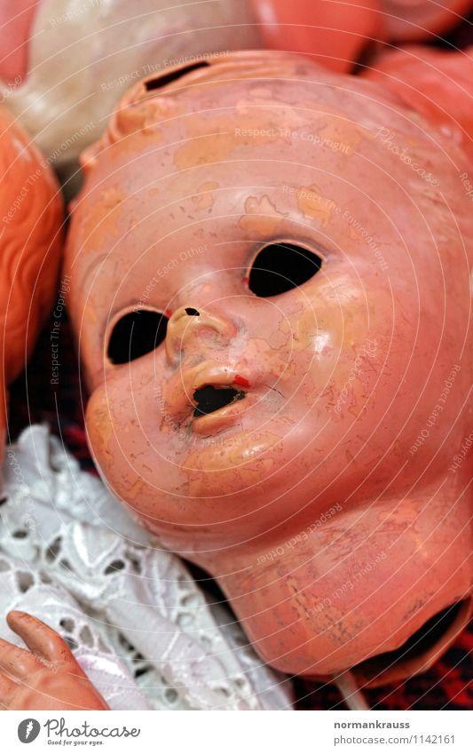 Transience Broken Retro Plastic Toys Nostalgia Doll Dolly doctor