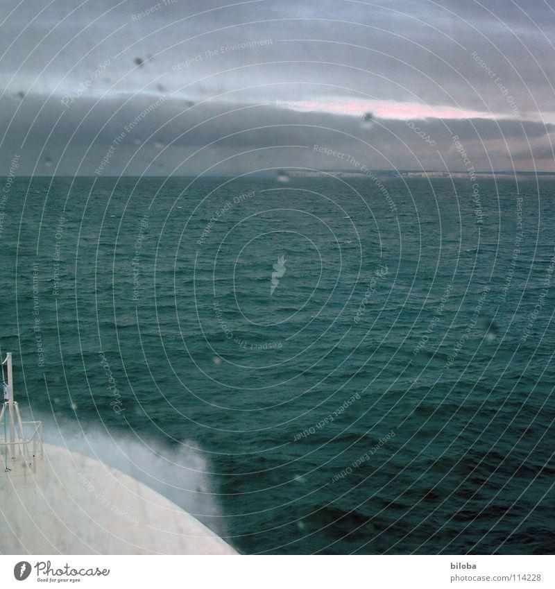 Water Ocean Green Lake Rain Watercraft Moody Waves Coast Fog Weather Drops of water Horizon Driving Gale Deep
