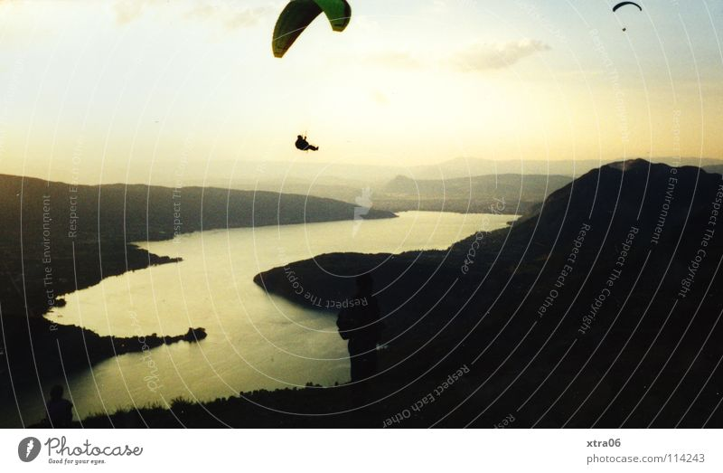 Water Sky Freedom Lake Flying Aviation France Annecy