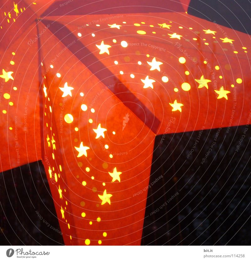 Christmas & Advent Red Calm Winter Yellow Colour Cold Dark Window Warmth Moody Lamp Art Feasts & Celebrations Glittering Star (Symbol)