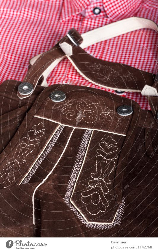 sepploutfit Decoration Oktoberfest Fashion Clothing Shirt Pants Leather Tradition Bavarian Costume Checkered deerskin Rustic traditional shirt Short Suspenders