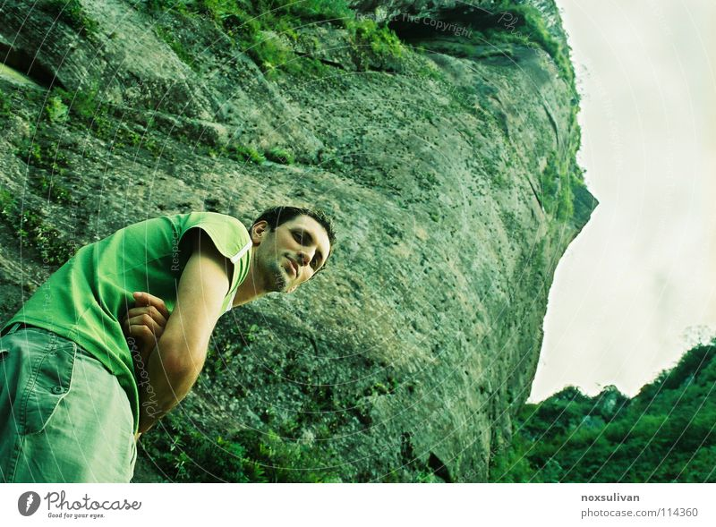Human being Green Winter Calm Loneliness Mountain Think Grief Under Distress Timidity Eerie Withdraw Impersonal Monsoon Solid