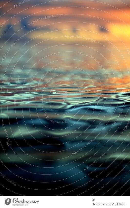 L2 Sunrise Sunset Beautiful weather Ocean Illuminate Cool (slang) Exotic Far-off places Fluid Maritime Positive Warmth Yellow Orange Silver Turquoise
