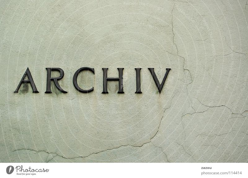 The Archive Collection Letters (alphabet) Characters file Keep data archiving filing data archive