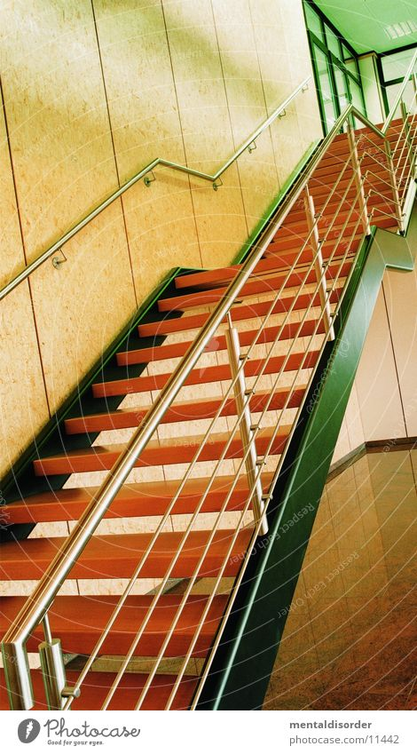 staircase Wood Steel Living or residing Stairs Handrail
