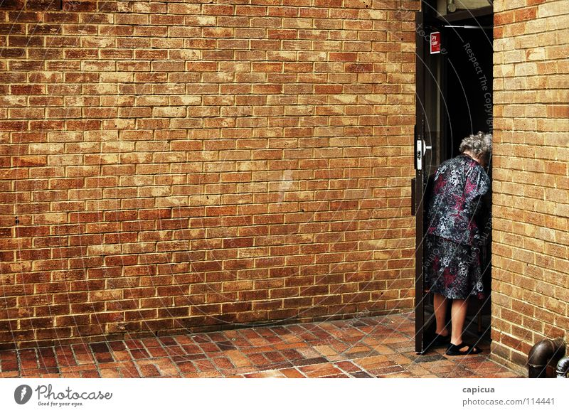 Woman City Wall (barrier) Clothing Grief Distress
