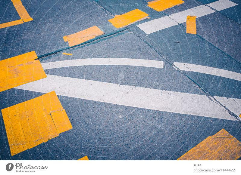 White Yellow Street Gray Signs and labeling Transport Simple Threat Stripe Broken Construction site Illustration Risk Asphalt Graphic