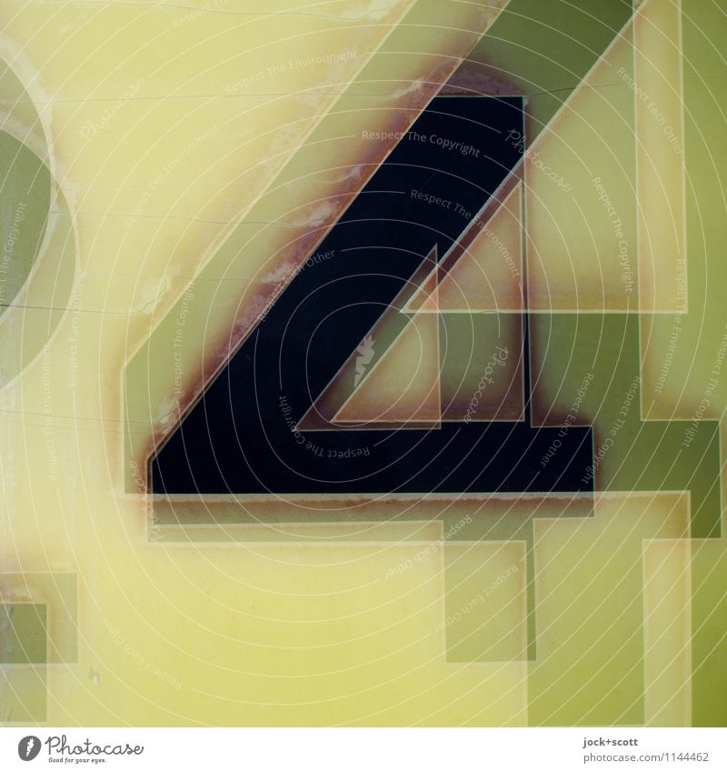 444 Design Illustration Typography Plastic Sharp-edged Retro Surrealism Greeny-yellow Reaction Related Weathered Bleached Average Multilayered Double exposure
