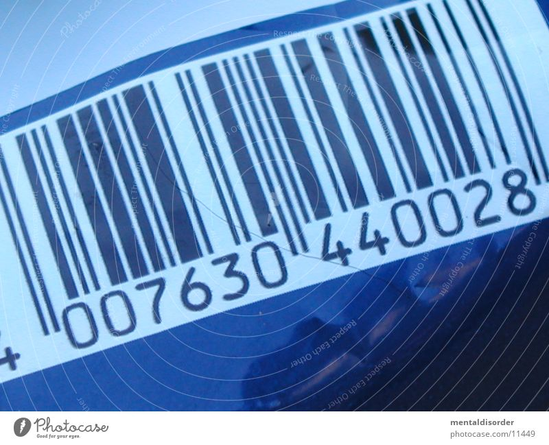 |S|T|R|I|C|H|*code Packaging White Digits and numbers Obscure bar code Blue