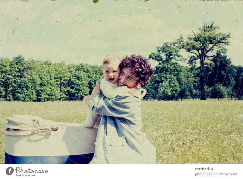 Woman Child Landscape Love Laughter Fashion Family & Relations Infancy Photography Childhood memory Posture Past Mother Generation Memory Embrace