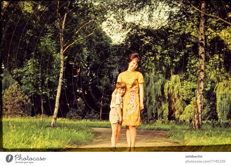 Human being Woman Child Nature Landscape Face Love Lanes & trails Family & Relations Fashion Park Copy Space Past Mother Parents Interest