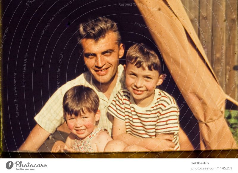 One father, two sons Family & Relations Related Family planning Domestic happiness Past The fifties Sixties Human being Fashion Copy Space Sunday Sunday morning