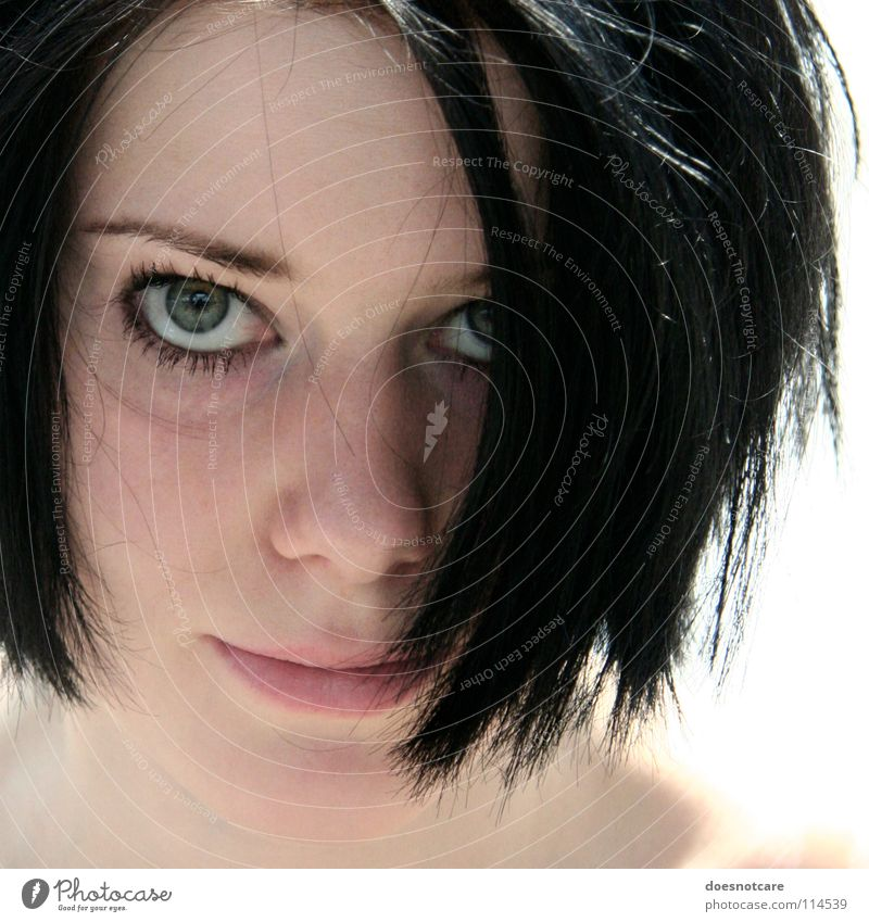 Woman Human being Youth (Young adults) Beautiful Black Feminine Hair and hairstyles Head Adults Beauty Photography Modern Partially visible Black-haired Strand of hair Face of a woman