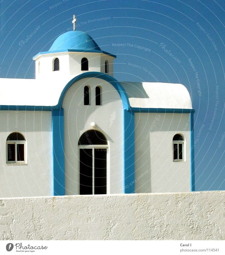 Sky White Blue Black Window Wall (barrier) Building Religion and faith Art Door Back Might Island Romance Roof Tower
