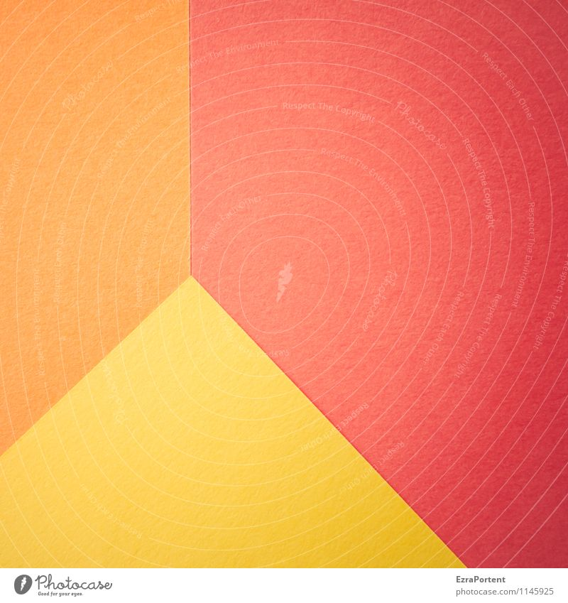 Colour Red Yellow Line Bright Orange Design Esthetic Point Corner Paper Illustration Graphic Diagonal Geometry Direct