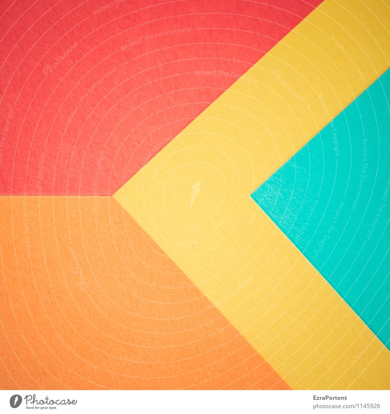 Blue Colour Red Yellow Background picture Line Bright Orange Design Esthetic Point Corner Paper Illustration Turquoise Graphic