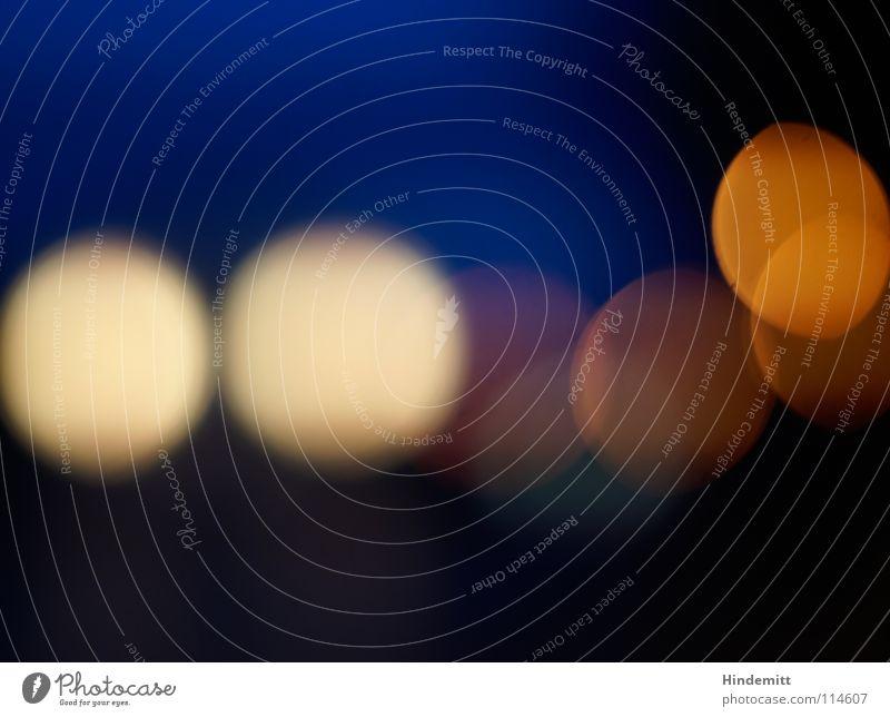 Blue Black Yellow Colour Lamp Dark Autumn Movement Rain Lighting Orange Transport Circle Round Point Alcohol-fueled