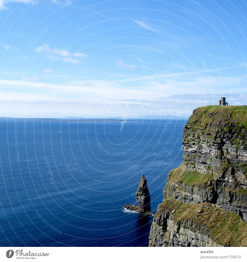Cliffs of Moher Ocean Coast Landscape Rock Ireland