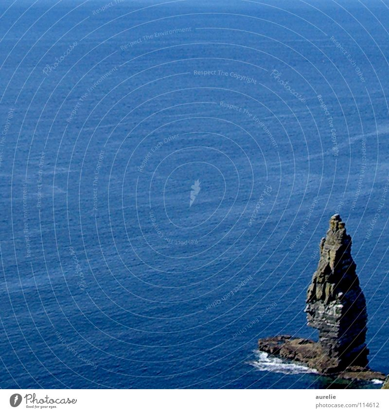 Ocean Landscape Coast Rock Cliff Ireland Cliffs of Moher