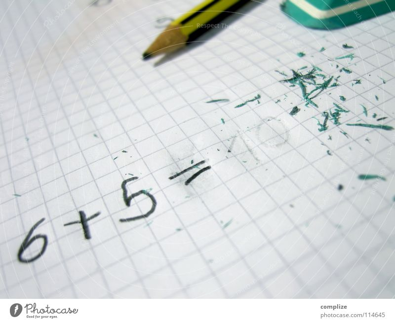 Green Think School Dirty Infancy Characters Academic studies Study or Survey Cleaning Paper Digits and numbers Intellect Education Write Concentrate 5