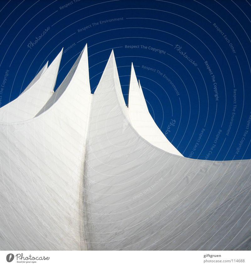 Sky White Blue Berlin Building Art Concrete Modern Roof Culture Shows Concert Event Tent Tourist Attraction