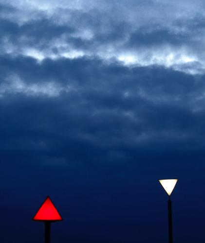 heavenly geometry Red White Triangle Lamp Lighting Dark Gale Clouds Geometry Art Gray Electricity 2 Converse Background picture Opposite End Large Small Lantern