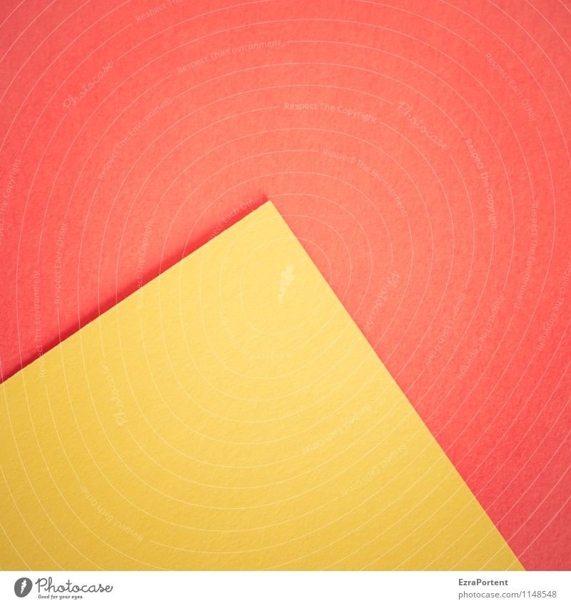 Colour Red Yellow Warmth Line Bright Design Illuminate Esthetic Point Paper Illustration Graphic Geometry Diagonal Handicraft