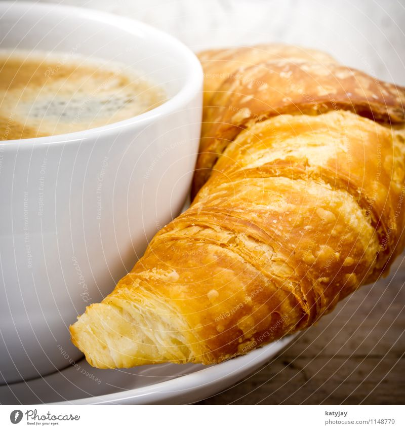 croissant Croissant Coffee Breakfast Espresso Coffee cup Cappuccino Café Flaky pastry Cup Baked goods Sidewalk café Cake Caffeine Café au lait Hot Chocolate
