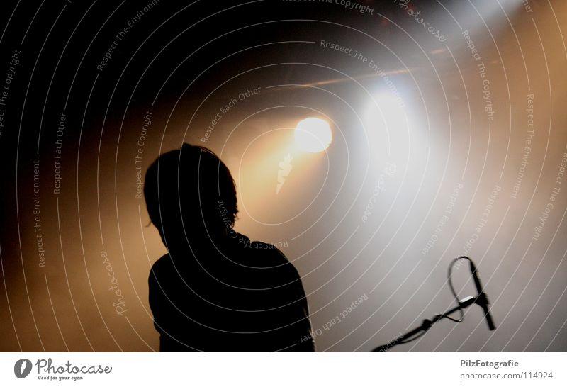 Man Black Head Music Brown Lighting Shows Concert Rock music Stage Microphone Event Pillar