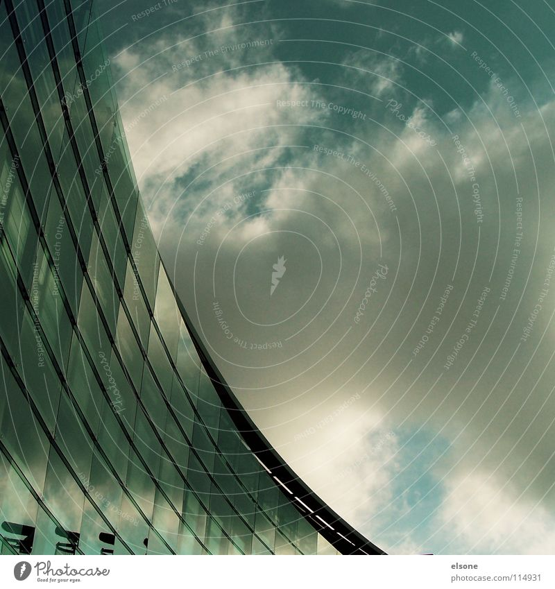 House (Residential Structure) Window Glass Modern New Round Go up