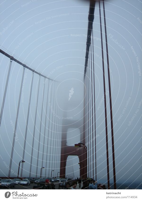 Red Bridge USA California San Francisco Golden Gate Bridge
