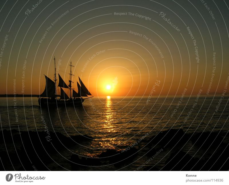 sideStick Watercraft Sunset Ocean Night Romance Navigation Lake